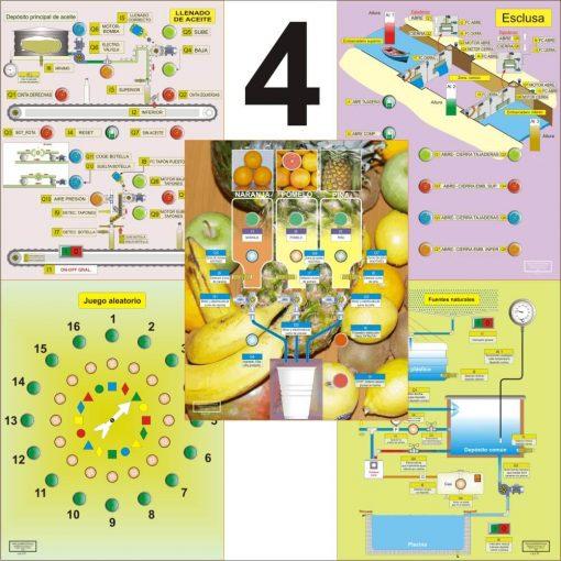 Aulaelectrica.es - Estuche de ilustraciones - Juego HMI