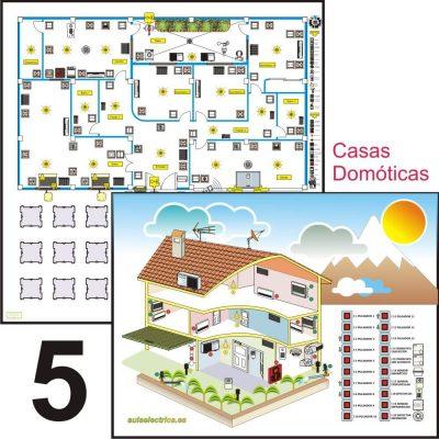 Aulaelectrica.es - Estuche de ilustraciones - Casa domótica